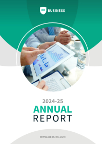 Annual Report Template A4