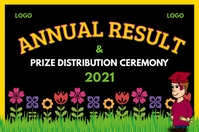 Annual Result Ceremony Banner template