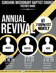 Annual Revival Flyer