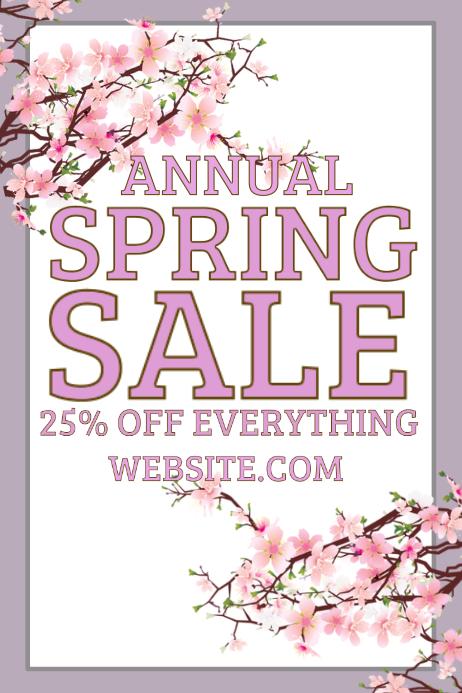 Annual Spring Sale
