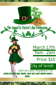 Annual St. Patricks Day Celebration Template