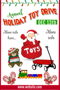 Annual Toy Drive Poster