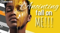 Anointing Fall on Me Thumbnail sa YouTube template