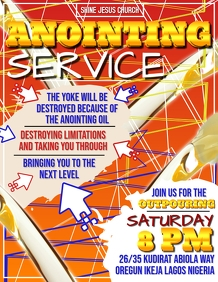 ANOINTING SERVICE TEMPLATE