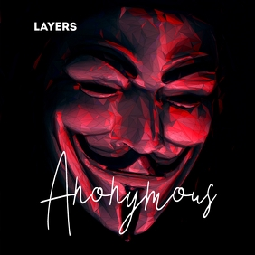 Anonymous Guy Fawkes Mask Mixtape Cover Art