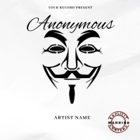 Anonymous Music Mixtape/Album Cover A