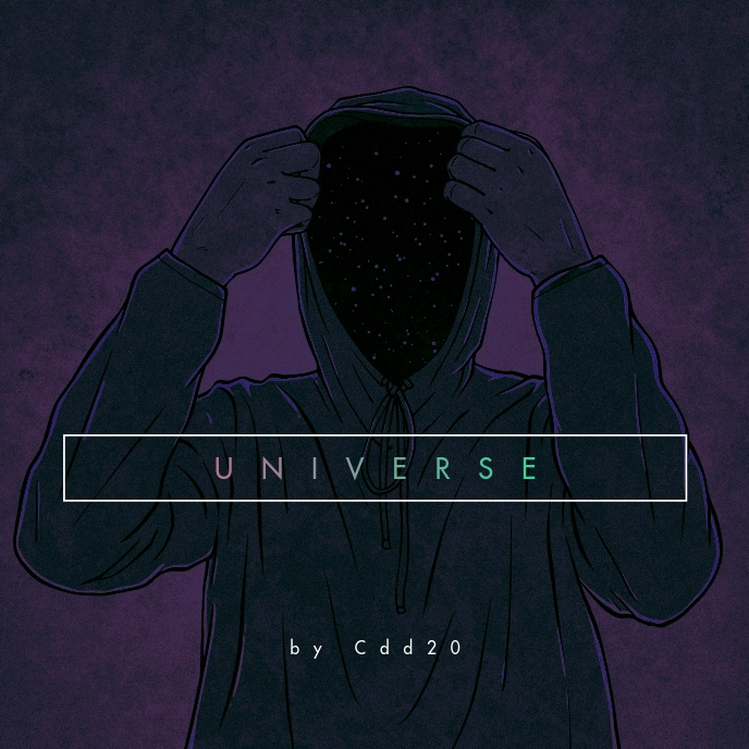 Anonymous Universe CD Cover Music template