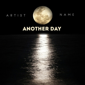 ANOTHER DAY album art template