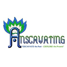 Anscavating Logo template