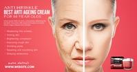 Anti Ageing Cream Ad Gambar Bersama Facebook template