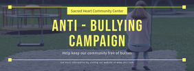 Anti Bullying Campaign Event Facebook Cover Template