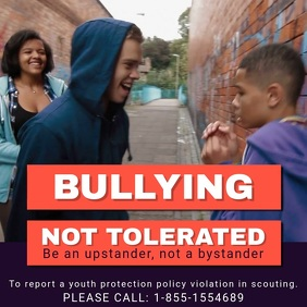 Anti-bullying Campaign Instagram Video Template