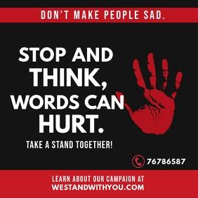 Anti Bullying Instagram Post