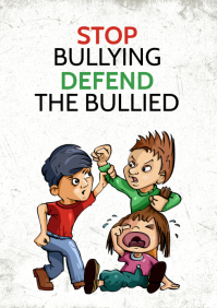 anti bullying poster for free
