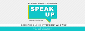 Anti Bullying Public Forum Event Facebook Cover Template