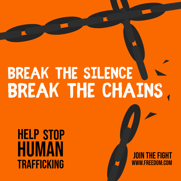 Anti Human Trafficking Instagram Image