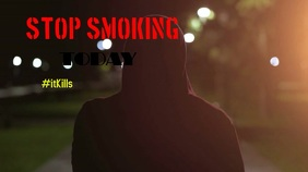 Anti smoking Campaign Digitale Vertoning (16:9) template