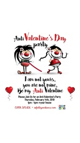 Anti Valentine's Day Poster