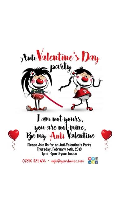 Anti Valentine's Day Poster