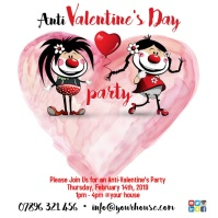Anti-Valentine's Party Poster