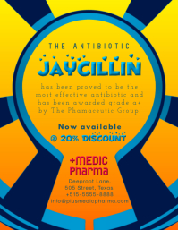 Antibiotic Medicine (Supposed Name Jaycillin)