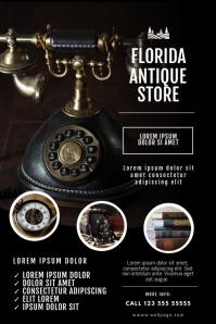 Antique Store Flyer Design Template