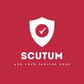 antivirus or security app icon logo