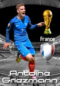 Antoine Griezmann Poster