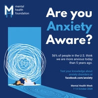 Anxiety triggers and identifiers awareness so template