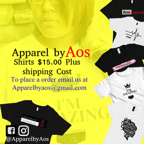 Aosinspires clothing line