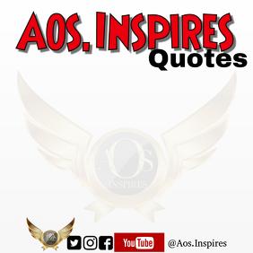 Aosinspires quotes template