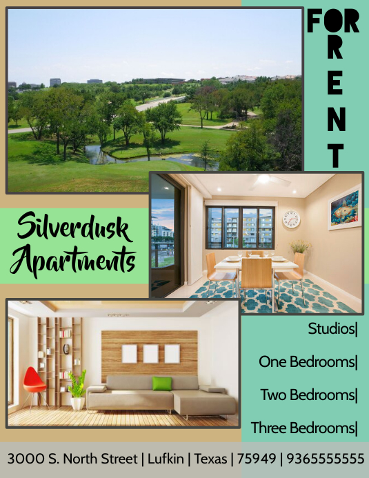 Aparment For Rent Flyer Template Postermywall