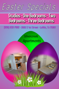 Apartment Easter Flyer