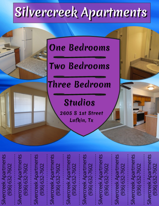 supérieur Apartment Flyer. Customize template