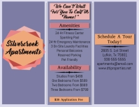 Apartment Trifold Brochure
