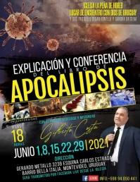 APOCALIPSIS II Flyer (Letter pang-US) template