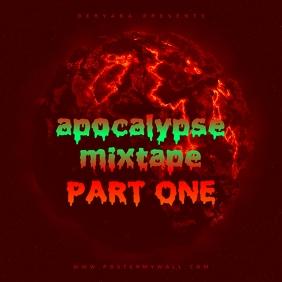 Apocalypse Mixtape CD Cover Template