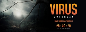 Apocalyptic Movie Poster Facebook Cover Photo template