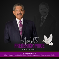 Apostle Frederick Price โพสต์บน Instagram template
