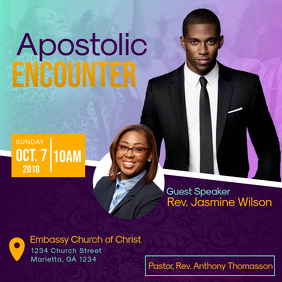 Apostolic Encounter