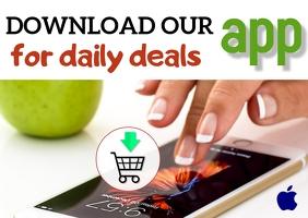 App promo/download app/media/aplicacion Postcard template