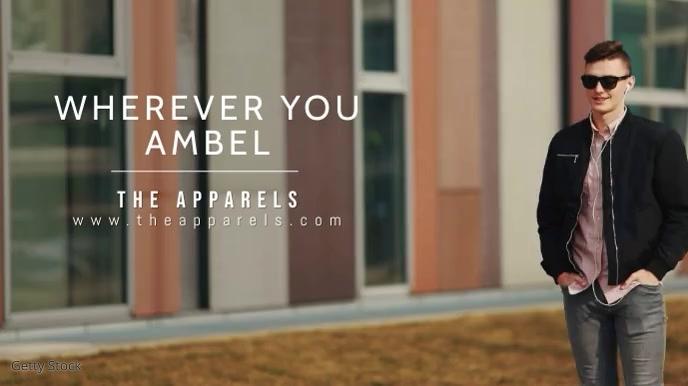 Apparel Branding Video Template