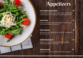 Appetizer Menu Card V2