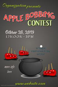 Apple Bobbing Contest Poster