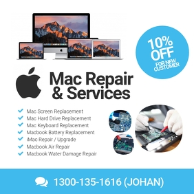 Apple Mac Laptop Repair Specialist