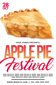 Apple Pie Festival Poster