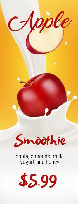 Apple Smoothie Leaflet