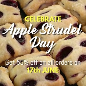 Apple Strudel Day