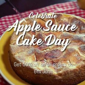 Applesauce cake Day