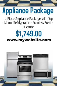 Appliance Sale Template